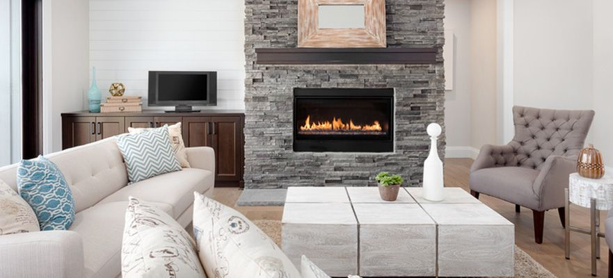 Upgrade the living room to help sell your home